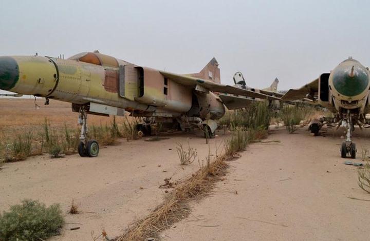 صورة وكالة فارس: مطار التيفور تعرض لقصف إسرائيلي