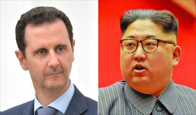 صورة الأسد سيلتقي كيم جونغ أون..ماذا يجمعهما؟