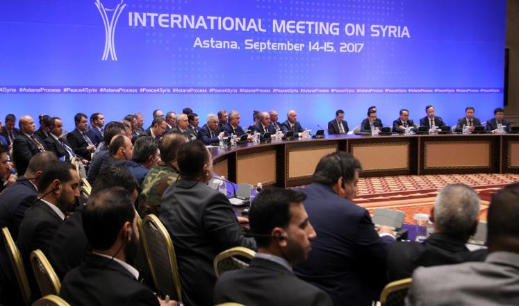 صورة تحرير سوريا: لا يمكن لروسيا أن تكون طرفا ضامنا