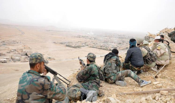 "صورة عبوات ""داعش"" تستنزف النظام شرق حمص"
