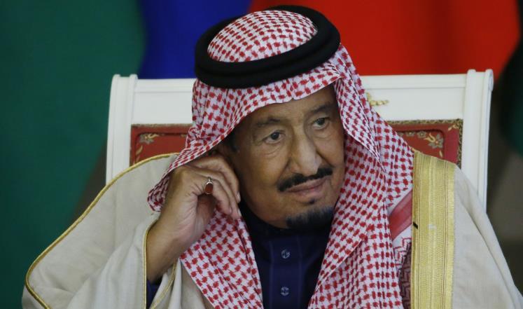 صورة ملك السعودية يهدد باستهداف قطر عسكريا