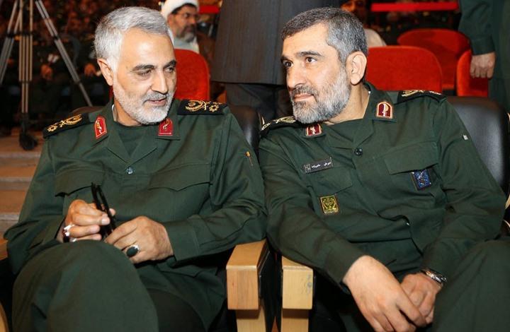 صورة مقتل جنرال كبير للثوري الإيراني في سوريا