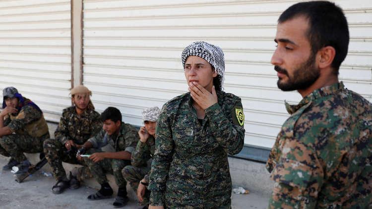 صورة الوحدات الكردية تنسحب من منبج