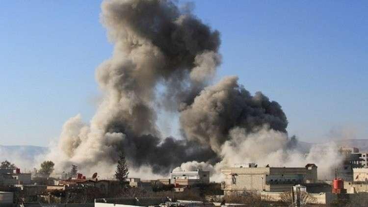 صورة القطيفة..انفجارات ضخمة تهز قطع عسكرية للأسد