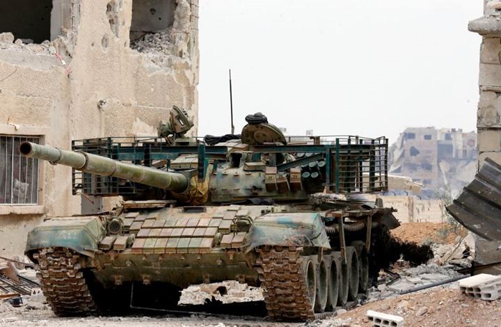 صورة النظام يستعيد مناطق من سيطرة التنظيم في البوكمال