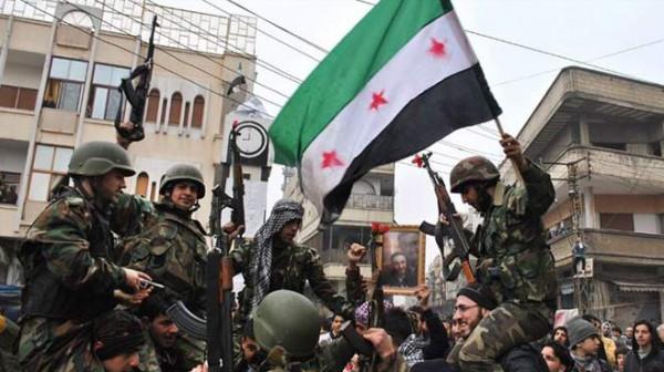 صورة فعاليات درعا تأييد جيشها الحر