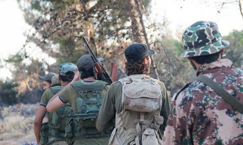 صورة مقتل 11 عنصراً للنظام شمالي حلب