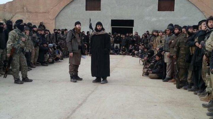 صورة دير الزور..العشرات ينتسبون لتنظيم الدولة