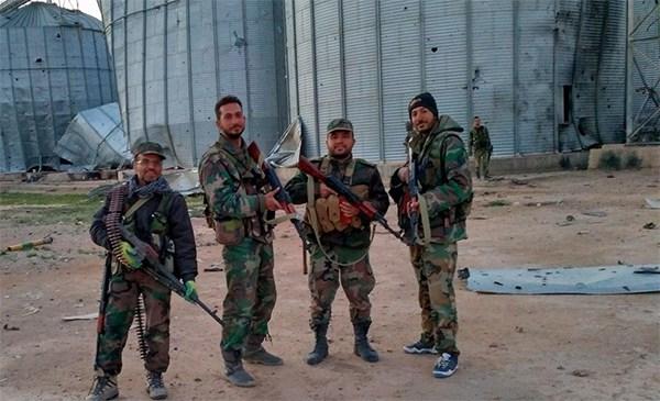 صورة هجمات واسعة للتنظيم شرق حمص..وخسائر للنظام
