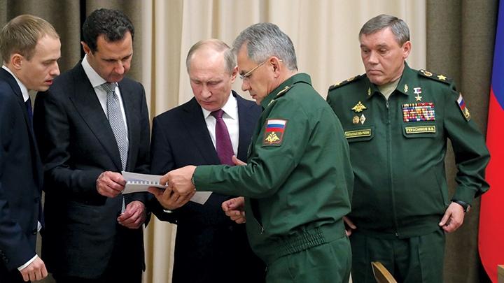 صورة إحياء الورقة الحمراء في الصراع على سوريا