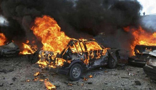 صورة مجموعة مسلحة تتبنى تفجيرات عفرين