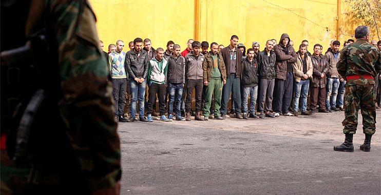 صورة نظام الأسد يجند قسرياً 400 شاب سوري