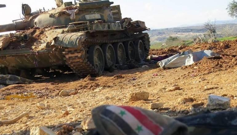 صورة قوات روسية تنتشر على الحدود السورية اللبنانية