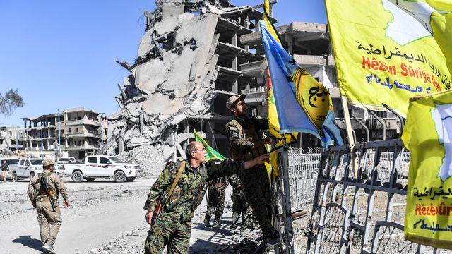 """صورة على خطى الأسد..""""ب ي د"""" يتجه لمصادرة منازل مدنيي الرقة"""