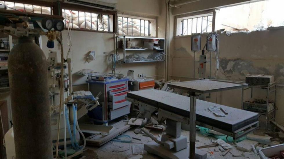 صورة النظام يتعمد الاعتداء على ثلاثة مراكز طبية