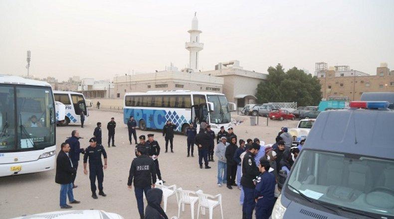 """صورة الكويت تبدأ ترحيل سوريين محكومين بـ""""الإبعاد"""""""