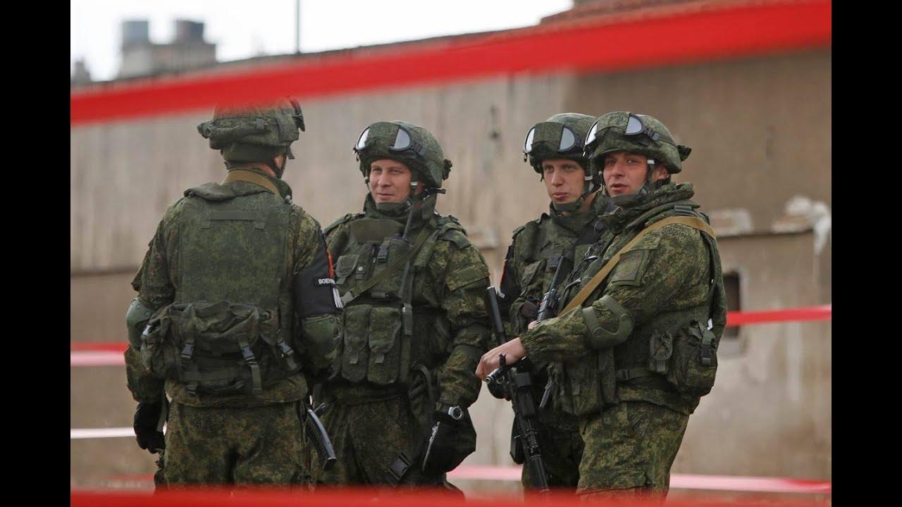 صورة قوات روسية تصل درعا وتعزيزات للنظام
