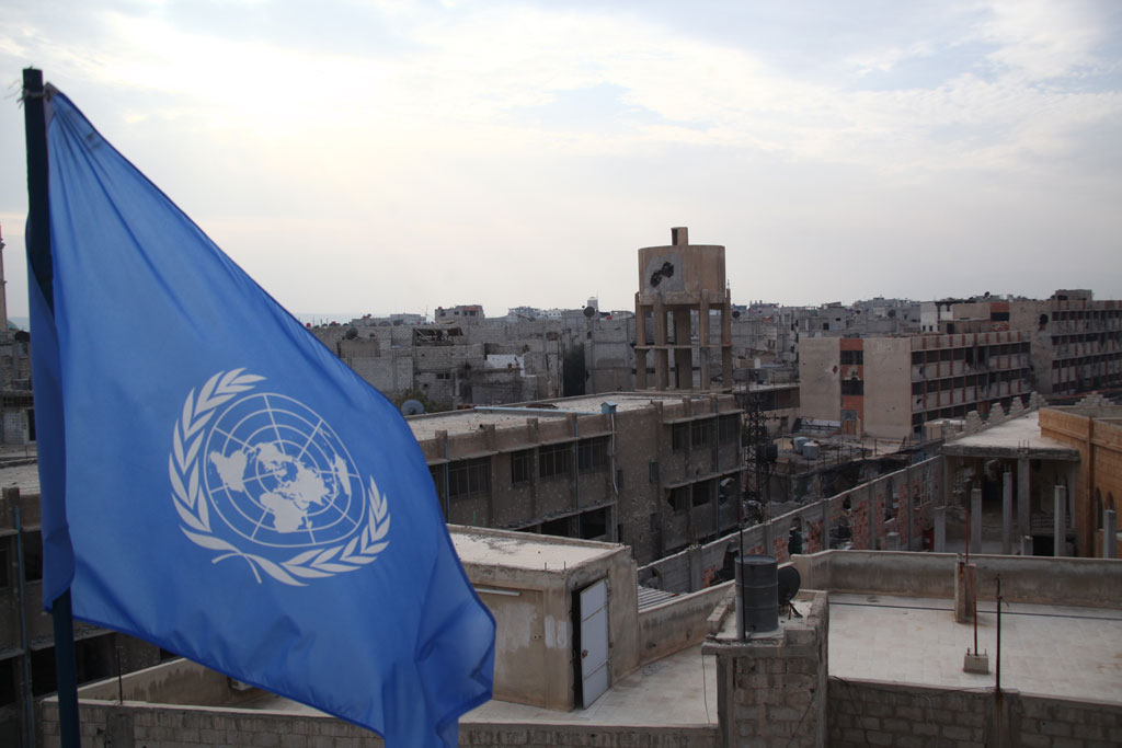 صورة مساعدات أممية عاجلة لجنوب دمشق