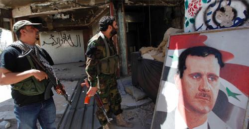 صورة النظام يرسل ضباطا بديلا للإيرانيين جنوب سوريا