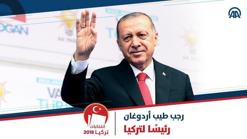 صورة أردوغان: الشعب كلفني برئاسة البلاد..بماذا وعد؟
