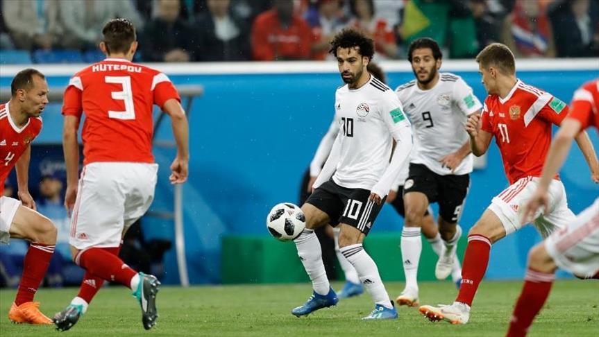 صورة 7 أرقام شهدتها مباراة مصر وروسيا في المونديال