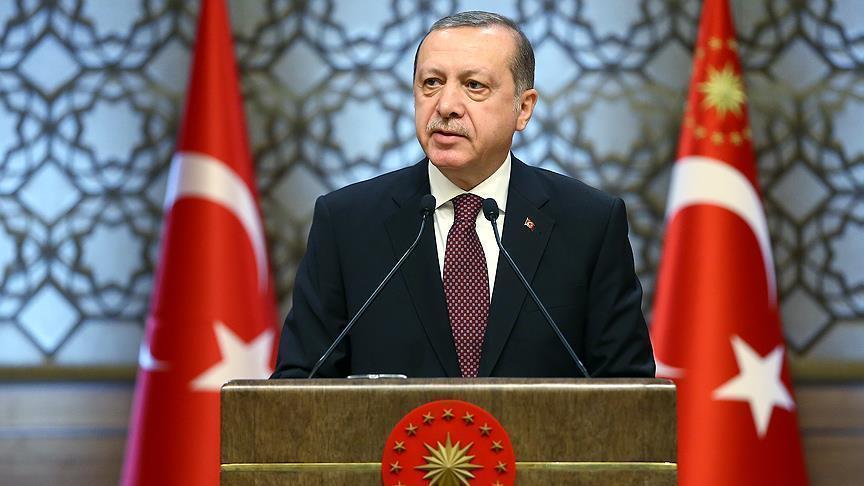 صورة أردوغان: سنقيم 5 مناطق صناعية عملاقة بتركيا
