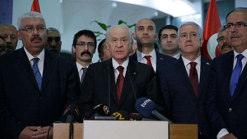 """صورة زعيم """"الحركة القومية"""" التركي: نعتز بانتصار """"تحالف الشعب"""""""