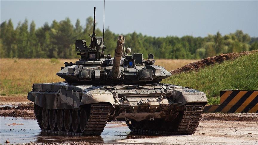 صورة العراق يتسلّم الدفعة الثالثة من صفقة دبابات روسية