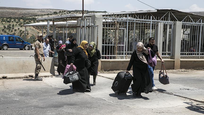 صورة 83 ألف سوري عادوا من تركيا نحو الداخل