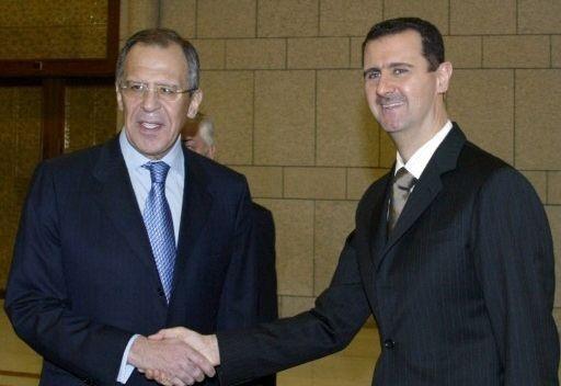 صورة لافروف: الأسد ديكتاتور لكننا ندعمه