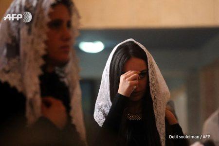 صورة مسيحيو عامودا يحتفلون لأول مرة منذ 30 عام