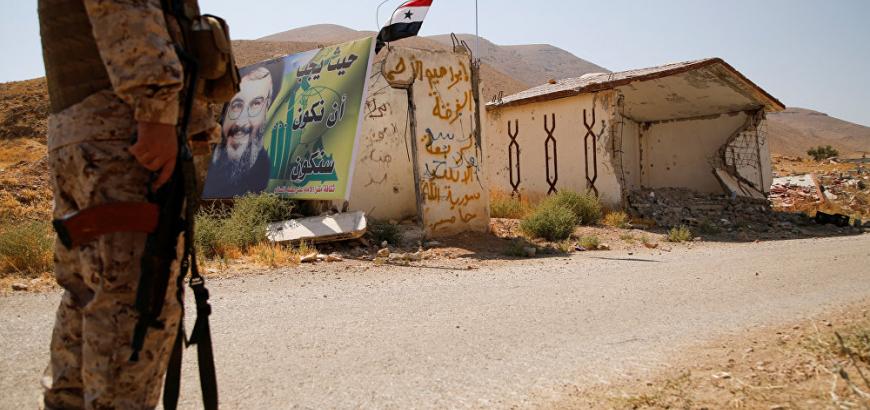 صورة درعا..حزب الله يعزز قواته بفرقة الرضوان