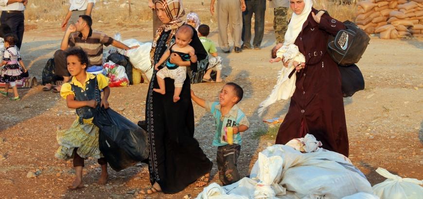 صورة القنيطرة..نزوح مئات المدنيين