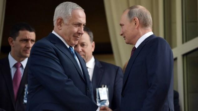 صورة إسرائيل لروسيا: الأسد في مأمن منا