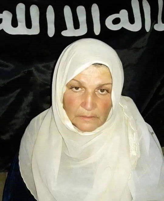 صورة تنظيم الدولة ينشر صورا لنساء اختطفهن من السويداء