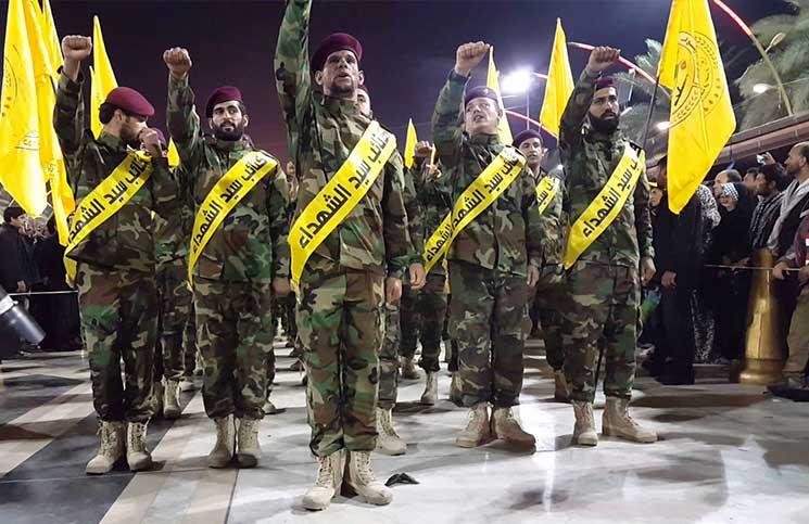 صورة الحشد الشعبي العراقي يتجه للقتال بجانب حوثيي اليمن