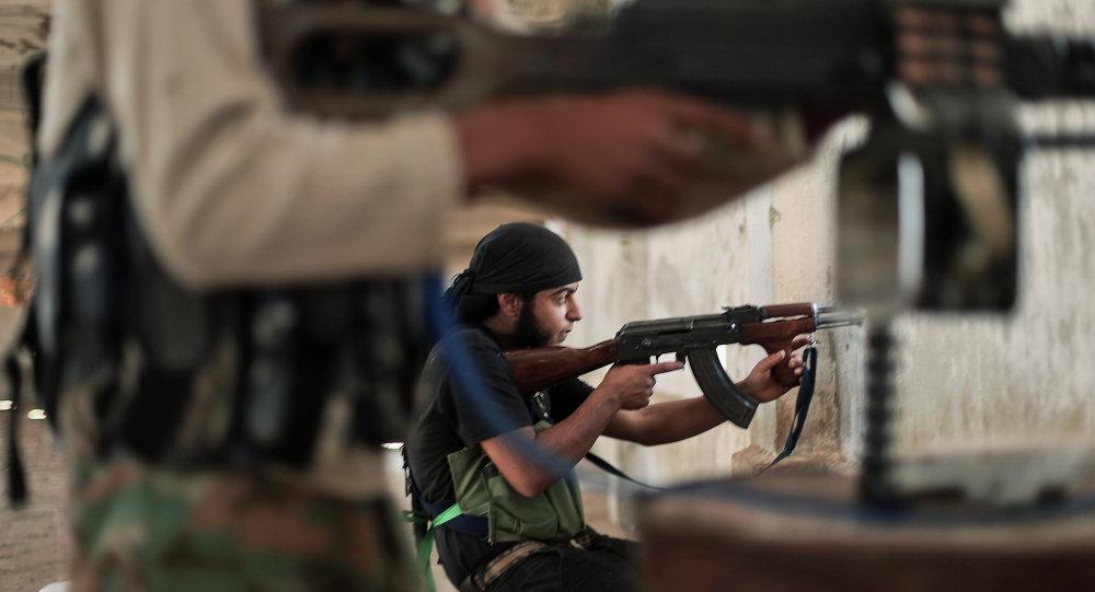 صورة ابناء درعا يقتلون 5 شبيحة حاولوا تعفيش منازلهم