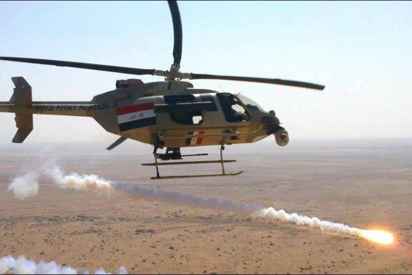 صورة العبادي: سنواصل استهداف تنظيم الدولة بسوريا
