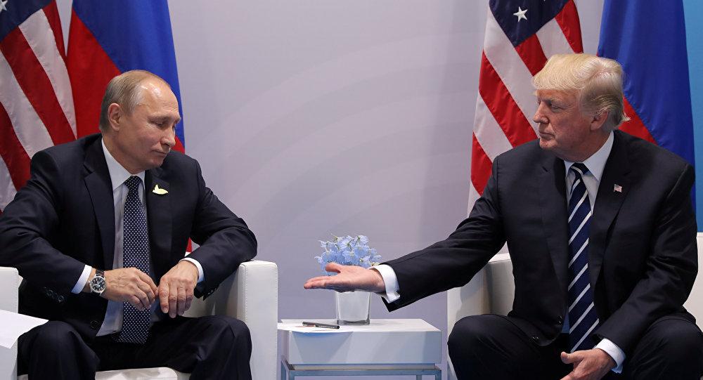 صورة قمة ترامب – بوتين.. والحرب السورية