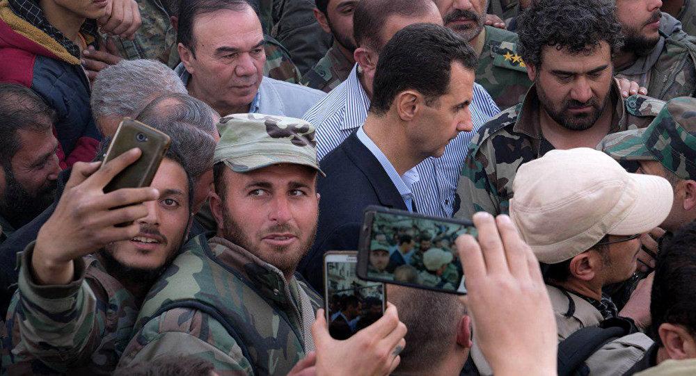 صورة مجلة أمريكية: سياسة واشنطن تجاه الأسد غير جادة