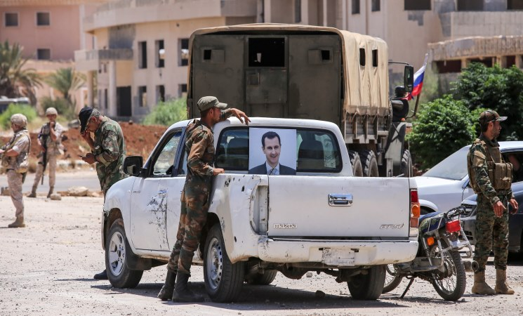 صورة كيف وصف موقع فرنسي اغتيال مهد الثورة السورية؟