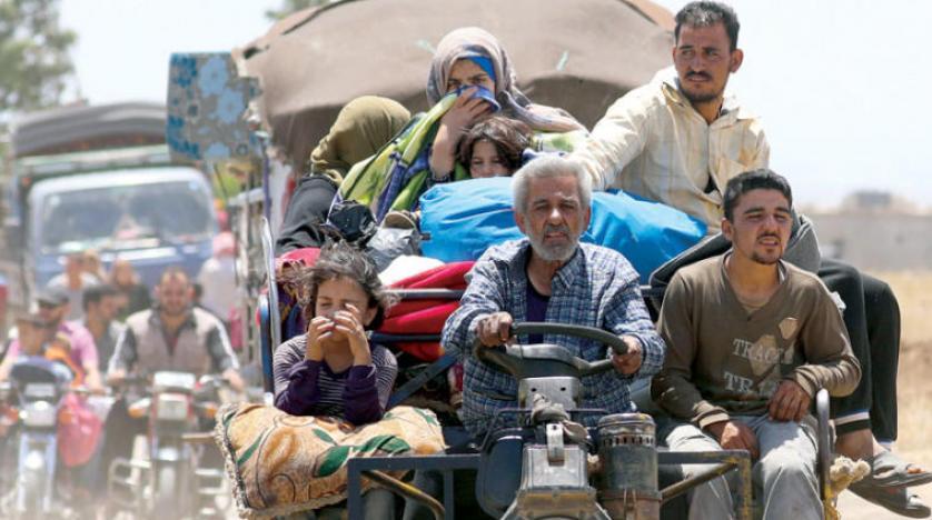 صورة 198 ألف سوري نزحوا من درعا إلى حدود الأردن وإسرائيل