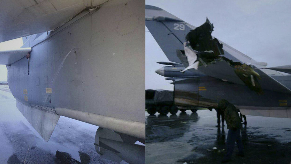صورة الطائرات المسيرة المجهولة تهاجم حميميم