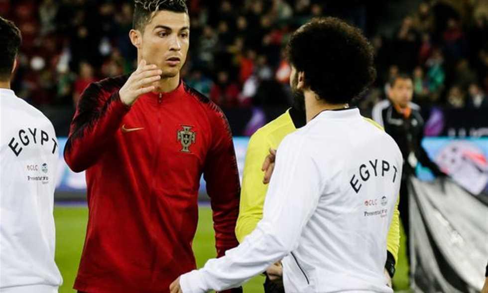 صورة قدم: صلاح ينافس رونالدو وميسي على الكرة الذهبية