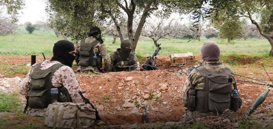 صورة حلب.. تصفية 9 عناصر من تحرير الشام