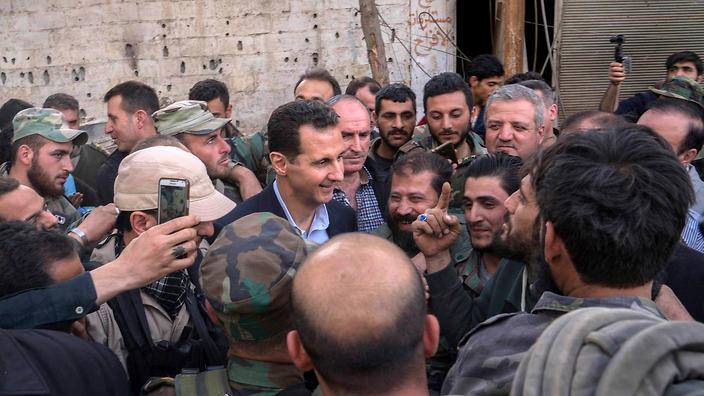 صورة هآرتس: الأسد شريك استراتيجي لنا