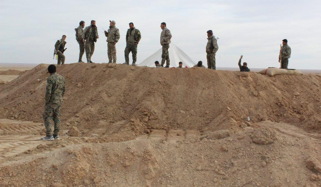 """صورة سوريا..تنظيم """"الدولة"""" يتبنى قتل قيادي وعناصر للوحدات الكردية"""