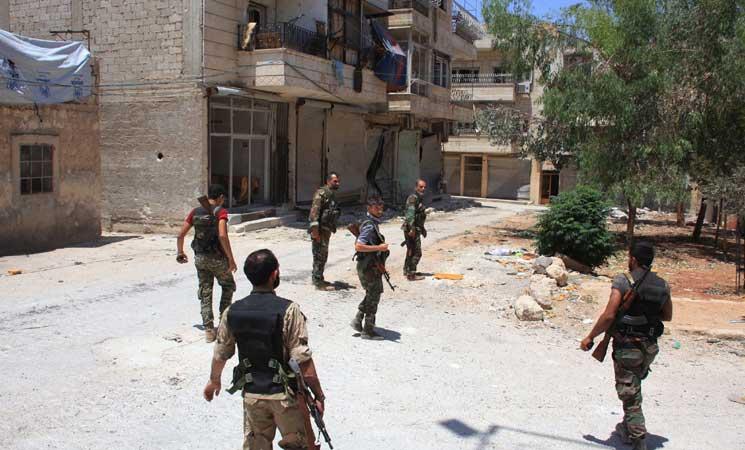 صورة اتفاق الجنوب.. الأسد يخلي مواقعه له