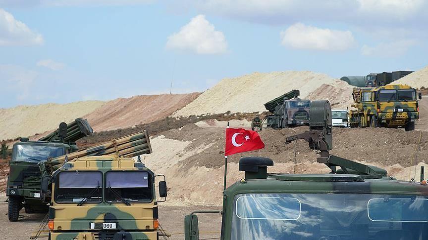 صورة جدار تركي عازل بين النظام والمعارضة شمال سوريا