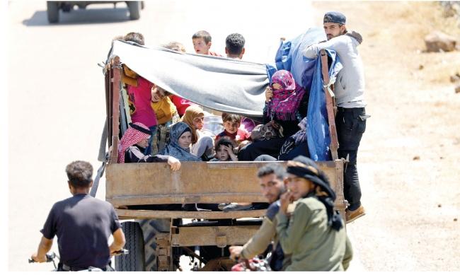 """صورة ووتش: رفض الأردن استقبال نازحي درعا """"مذل"""""""